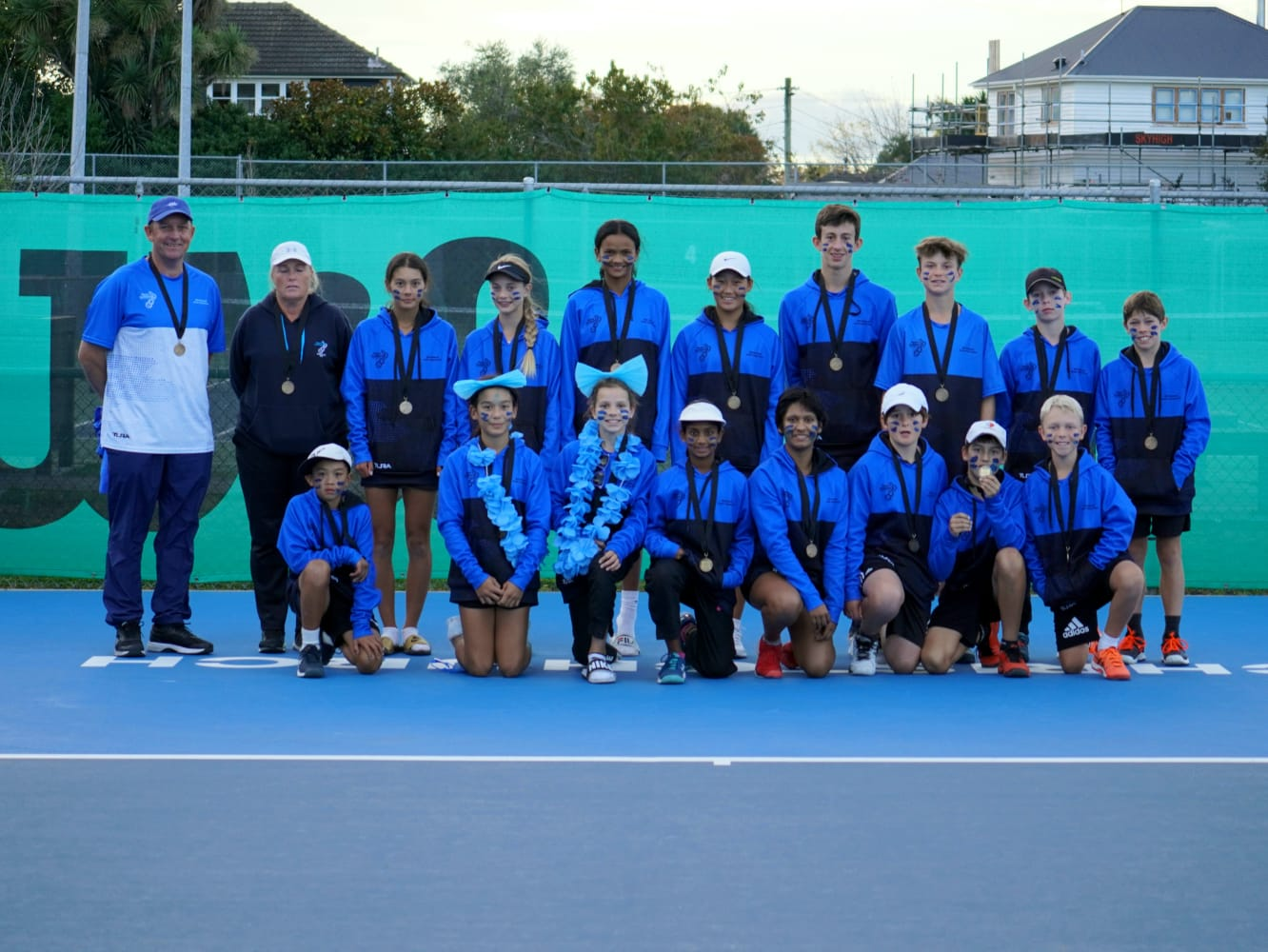 Seventh Title for Tennis Auckland Teams