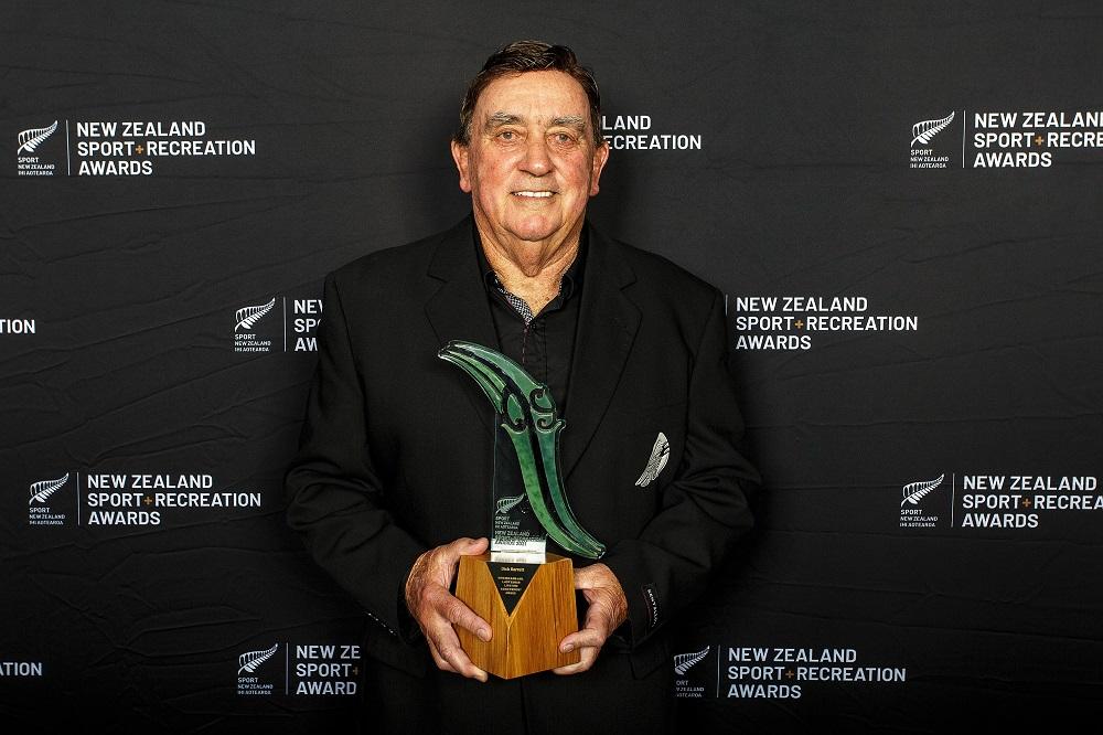 Dick Garrett Recognised with Lifetime Achievement Award